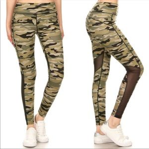 🆕 ALUNA LEVI CAMO ATHLETIC LEGGINGS